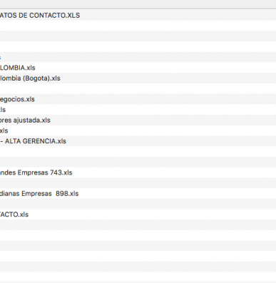 colombia companies lists