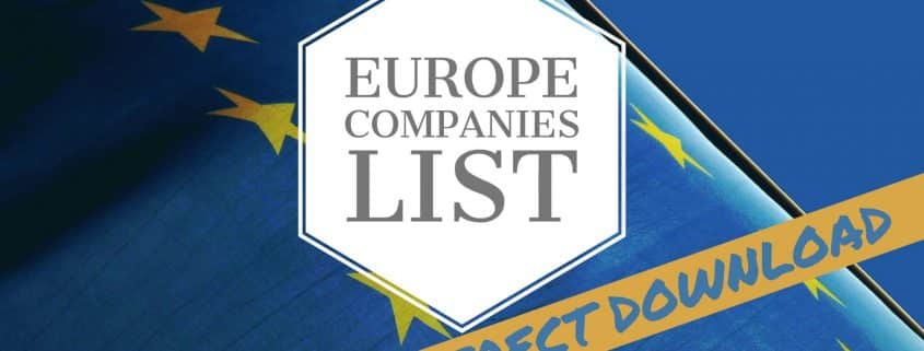 Europe Companies List