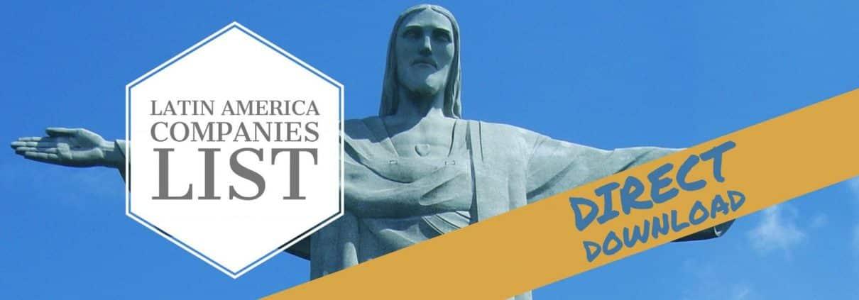 latin america companies email database