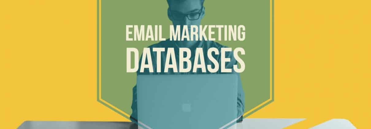 Email marketing databases