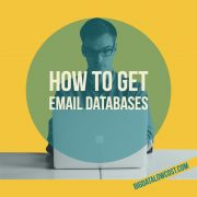 How to get email databases
