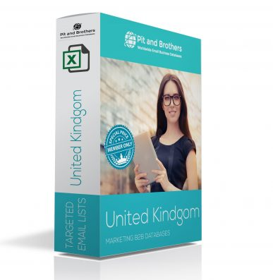 United Kingdom email business Database